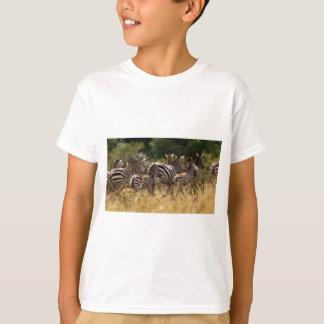 T-shirt Substance africaine de cool de zèbre