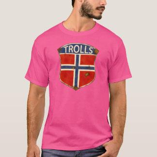 T-shirt Substance de trolls