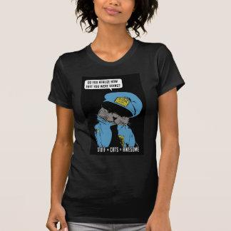 T-shirt Substance sur mon chat - cannette de fil