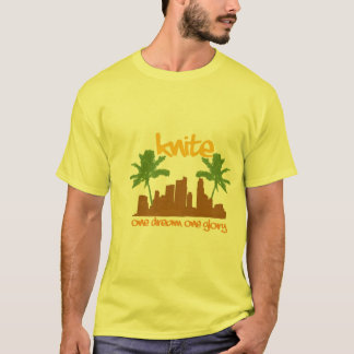 T-shirt suburbain urbain de knite