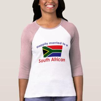 T-shirt Sud-africain heureusement marié