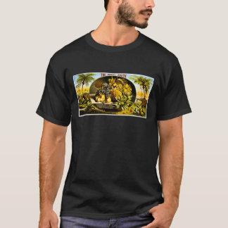 T-shirt Sud ensoleillés 1874 étiquettes vintages de cigare