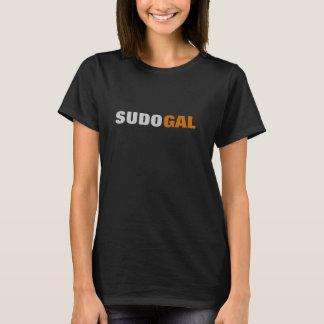 T-shirt Sudo Geeky gallon