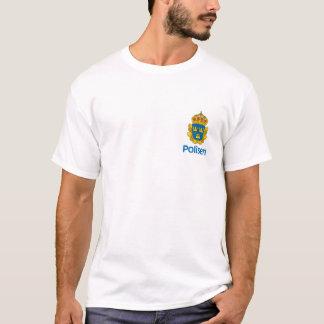 T-shirt suédois de police