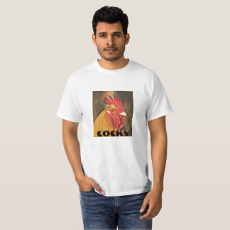 T-shirt suffisant de coq