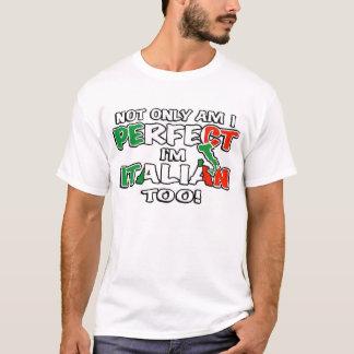T-shirt Suis non seulement je me perfectionne