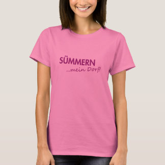 T-shirt » SÜMMERN… mon village «Shirt • Dames