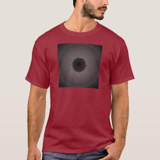 T-shirt Sun rouge foncé