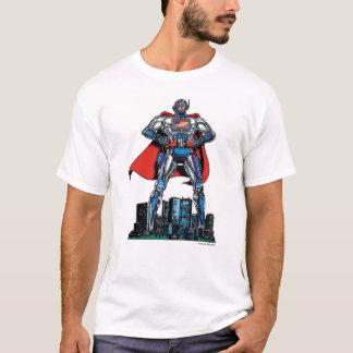 T-shirt Super héros américain d'ordinateur