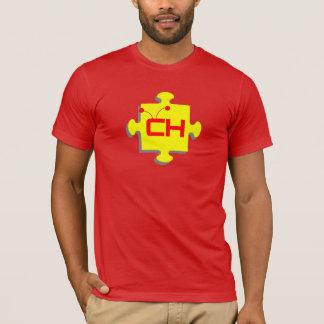 T-shirt Superbe Héros Autistique Rouge