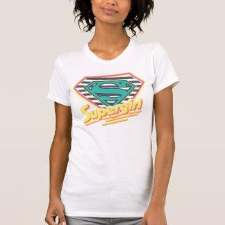T-shirt Supergirl a barré le logo