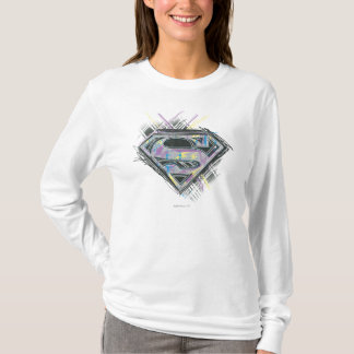 T-shirt Supergirl griffonne le logo