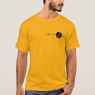 T-shirt supérieur de carotte
