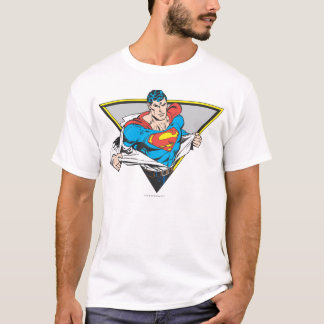 T-shirt Superman a indiqué