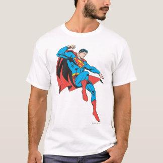 T-shirt Superman débarque légèrement