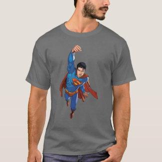 T-shirt Superman volant en avant