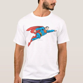 T-shirt Superman volant juste
