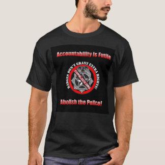 T-shirt Supprimez la police - bloc de cannette de fil
