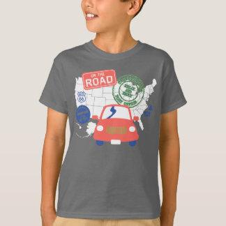 T-shirt Sur la route