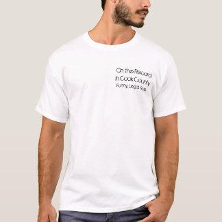 T-shirt Sur le disque dans le comté de Cook, drôle.