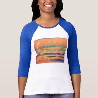 T-shirt Surf peint