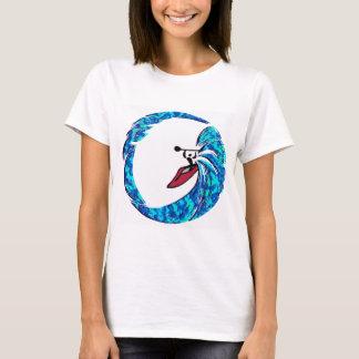 T-shirt Surfer de côté de kayak