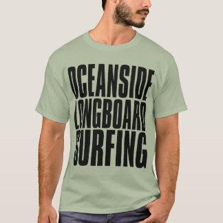 T-shirt Surfer de Longboard d'Oceanside