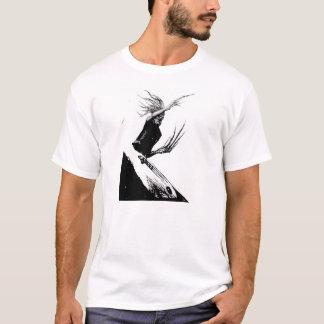 T-shirt Surfer de zombi (griffes)