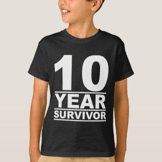 T-shirt survivant de 10 ans