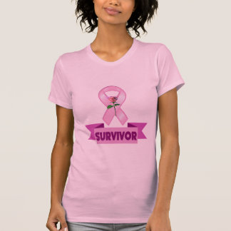 T-shirt - survivant de cancer du sein