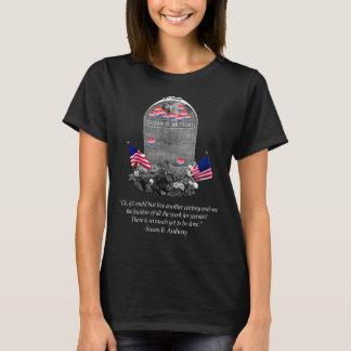 """T-shirt Susan B. Anthony Headstone avec """"moi ai voté"""" des"""