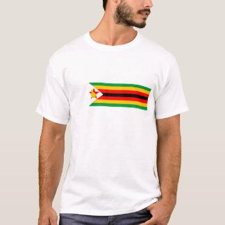 T-shirt symbole de nation de drapeau de pays du Zimbabwe