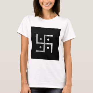 T-shirt Symbole de svastika d'hindouisme