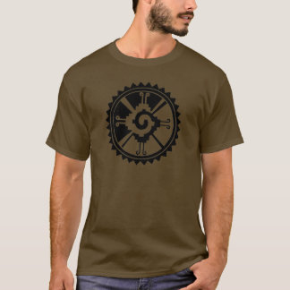 T-shirt Symbole maya Hunab Ku de divinité