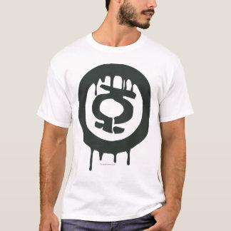 T-shirt Symbole vert de peinture de lanterne