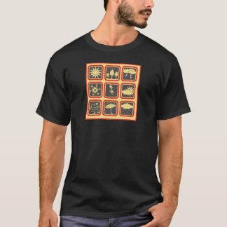 T-shirt Symboles de temps