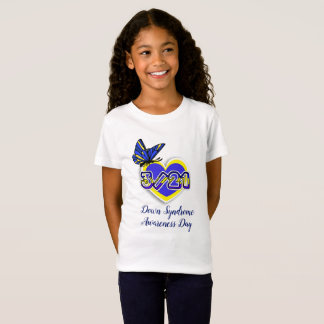T-Shirt SYNDROME DE DOWN CONSCIENCE JOUR chemise du 21