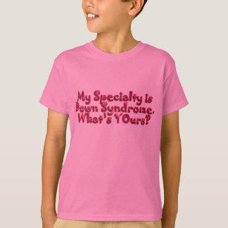 T-shirt Syndrome de Down est ma spécialité