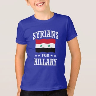 T-SHIRT SYRIENS POUR HILLARY