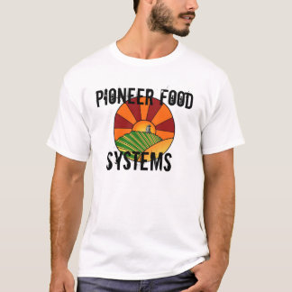 T-shirt Systèmes pionniers de nourriture