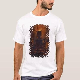 T-shirt T30554A le moulin à vent brûlant, 1662 (panneau)