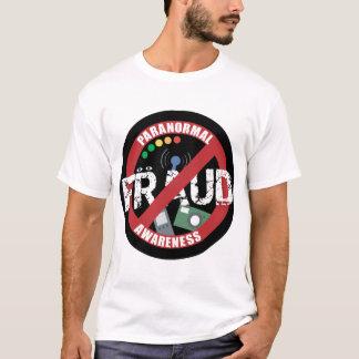 T-shirt T- Conscience paranormale de fraude de chemise