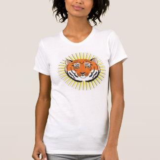 T-shirt T de la femme adulte de Sunsplash de tigre
