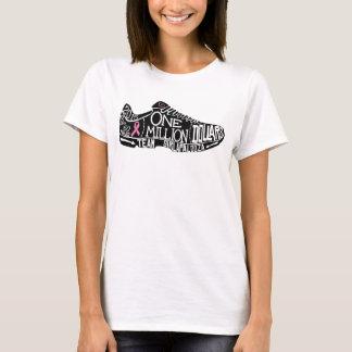 T-shirt T des femmes de base