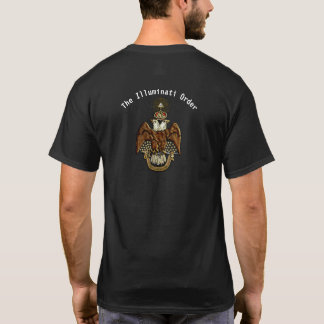 T-shirt T des hommes d'Illuminati