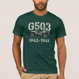 T-shirt T des hommes d'obscurité de G503 1942-1945