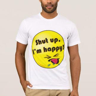 T-shirt T des hommes - Framboise heureuse