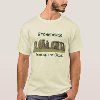 T-shirt T des hommes - Stonehenge, maison du druide