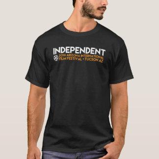 """T-shirt T noir """"indépendant"""""""