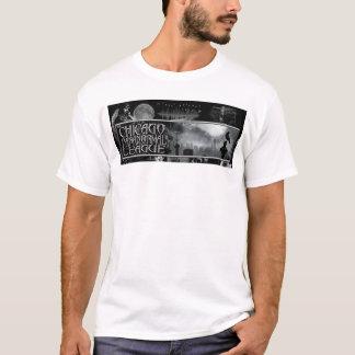 T-shirt T paranormal des hommes de ligue de Chicago